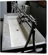 Miner Communal Sink Canvas Print