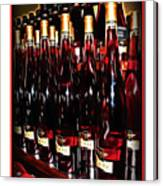 Miner Pink Sparkling Wine Canvas Print