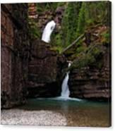 Mineral Creek Falls Canvas Print