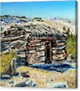 Miner's Cabin Canvas Print