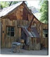 Miners Cabin. Canvas Print