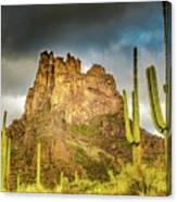 Miner's Needle In The Superstitions Canvas Print