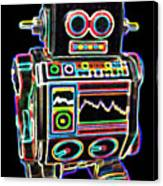Mini D Robot Canvas Print