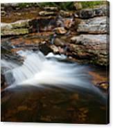 Mini Falls On The Peterskill I Canvas Print