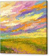 Mini Landscape V Canvas Print