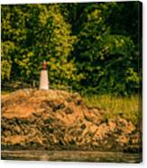 Mini Lighthouse Canvas Print
