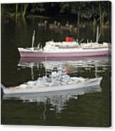 Miniature Boats Canvas Print