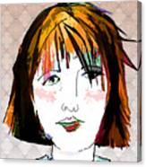 Minimal Makeup Canvas Print