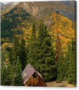 Mining Shack Canvas Print
