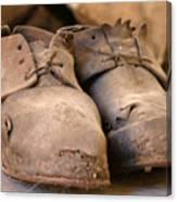 Mining Shoes  Langban Sweden Canvas Print