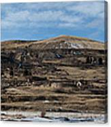 Mining Town Panorama Canvas Print