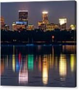 Minneapolis Refects Canvas Print