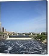 Minneapolis - Saint Anthony Falls Canvas Print
