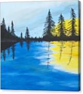 Minnesota Lakes Canvas Print