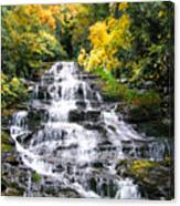Minnihaha Falls In Autumn Canvas Print
