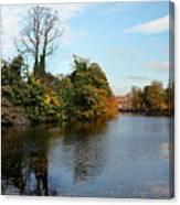 Minster Pool Lichfield Canvas Print