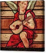Paris, France - Minstrel Angel Canvas Print
