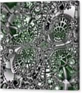 Mint Metal Canvas Print