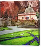 Mirabell Gardens Salzburg  Canvas Print
