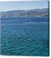 Mirabello Bay Panorama Canvas Print