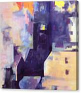 Mirage In The Concrete City Canvas Print