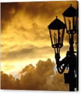 Mirage Night Sky Canvas Print