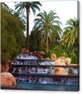 Mirage Waterfall Canvas Print