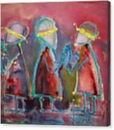 Mirror Blindness Canvas Print