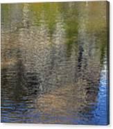 Mirror Lake Reflections 04 13 Canvas Print