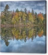 Mirror Morning Canvas Print