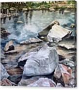Mirror Pond Canvas Print