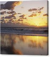 Mirrored Mexico Sunset Canvas Print