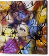 Mirrored Pebbles Canvas Print