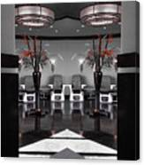 Mirrored Salon  Canvas Print