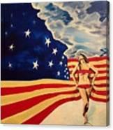 Miss America? Canvas Print