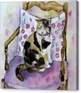 Miss Chiepie Canvas Print