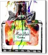 Miss Dior Grunge Canvas Print