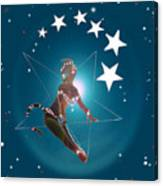 Miss Fifiswinging On A Star Canvas Print