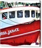 Miss Janice Canvas Print