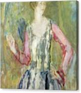 Miss Nancy Cunard Canvas Print