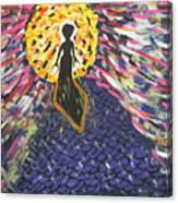 Miss Ufo Canvas Print