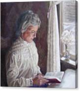 Miss Wendle-Barkerville Canvas Print