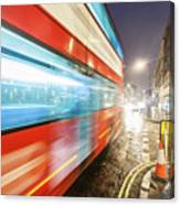 Missed The Bus Canvas Print