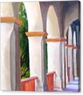 Mission Arches Canvas Print