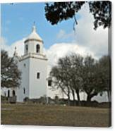 Mission At Goliad Canvas Print