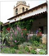 Mission Bells And Garden Canvas Print