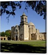 Mission San Jose Y San Miguel De Aguayo. Church. Canvas Print