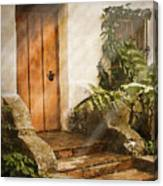Mission Door Canvas Print