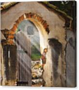 Mission Gate Canvas Print