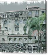 Mission Inn Court Yard Canvas Print